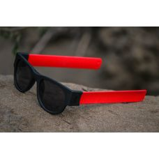 Red Color  Foldable Fancy Goggles Sunglasses