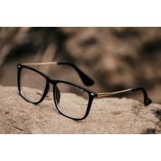 Transparent Square Frame Type Fancy Goggles Sunglasses