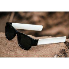 White Color  Foldable Fancy Goggles Sunglasses