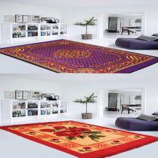 MJJ Home combos of panipat Traditional Carpet