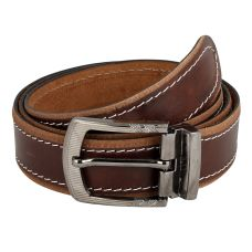 Dussledorf Genuine Leather taxture Pattern Belt With Removable Buckle For Men's (Pine-0802)