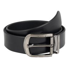 Dussledorf Genuine Leather taxture Pattern Belt With Removable Buckle For Men's (Matt-0801)