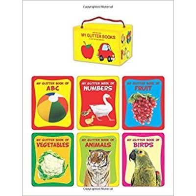Glitter book Series - Gift Pack (6 Titles) (My Glitter Board Book)