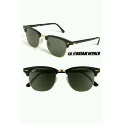 Black Color Club Master Type Attractive Goggles Sunglasses