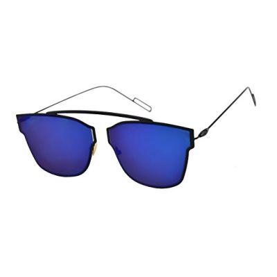 Blue Color Kohli Style Fancy Goggles Sunglasses