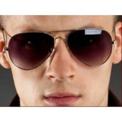 Brown Color Aviator Type Fancy Goggles Sunglasses
