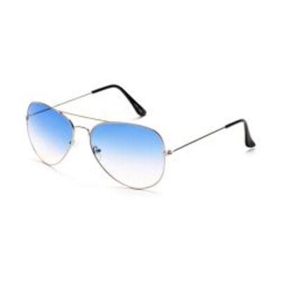 Green Color Aviator Type Fancy Goggles Sunglasses