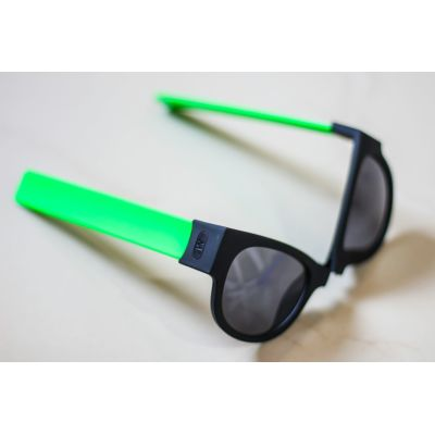 Green Color  Foldable Fancy Goggles Sunglasses