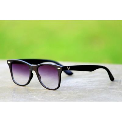 Purple Color Wayfarer Type Fancy Goggles Sunglasses