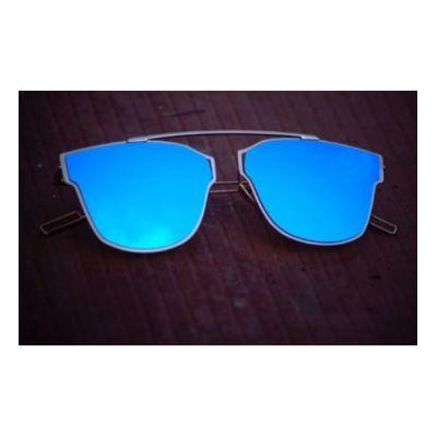 Blue Blue Color Kohli Style Fancy Goggles Sunglasses