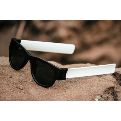 White Color  Foldable Fancy Goggles Sunglasses