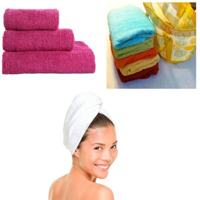 MJJ 20 Pcs Towels Combos(2 Bath Towels & 12 Face Towels& 6 Hand Towels)