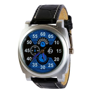 LUBHNA LD-Blue-Black  Sports Watch - For Men
