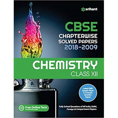 CBSE Chemistry Chapterwise Solved Papers Class 12th