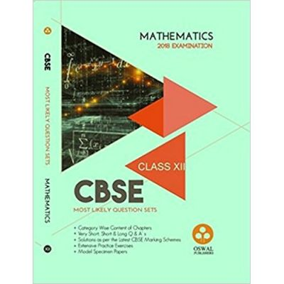 CBSE Most Likely Question Sets Mathematics for Class-XII