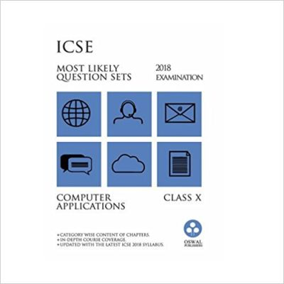 ICSE MOST LIKELY COMPUTER APPLICATIONS