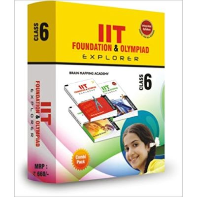 Combipack IIT Foundation and Olympaid for Class 6