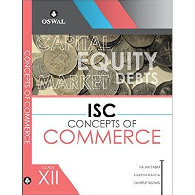 ISC CONCEPTS OF COMMERCE Class XII