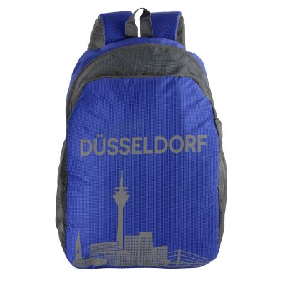 Dussledorf Polyester 17 Liters Blue Backpack With Adjustable Strap (DUSS-0701)