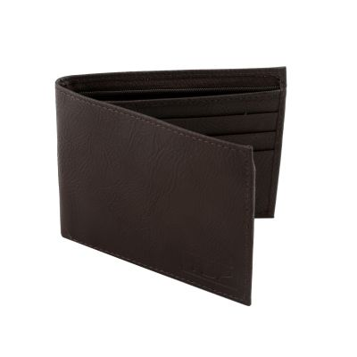 Dussledorf Boost Brown With 2 Compartment Rich Pu Leather Men's Wallet (BST-02)