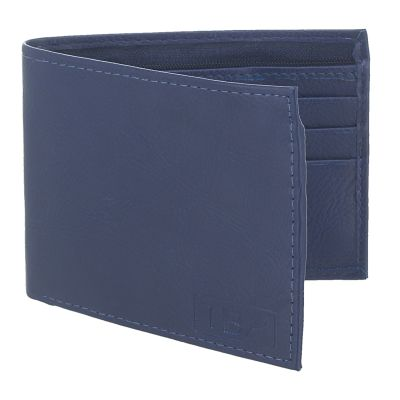 Dussledorf Boost Blue With 2 Compartment Rich Pu Leather Men's Wallet (BST-07)