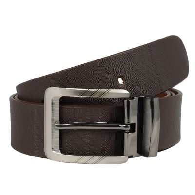 Dussledorf Genuine Leather taxture Pattern Belt With Removable Buckle For Men's (Ninja-0802)