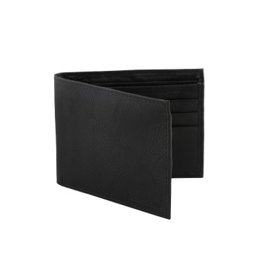 Dussledorf Boost Black With 2 Compartmnet Rich Pu Leather Men's Wallet (BST-01)