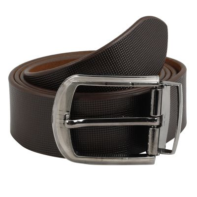 Dussledorf Genuine Leather taxture Pattern Belt With Removable Buckle For Men's (Matt-0802)