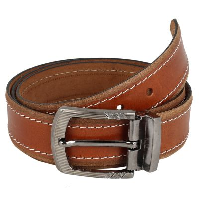 Dussledorf Genuine Leather taxture Pattern Belt With Removable Buckle For Men's (Pine-0202)