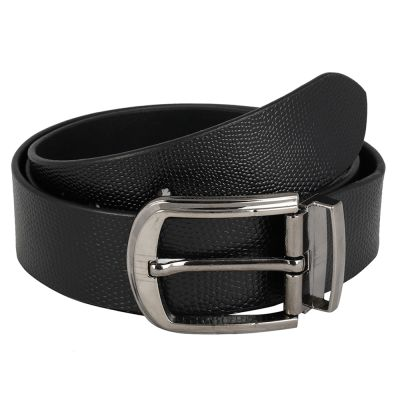 Dussledorf Genuine Leather taxture Pattern Belt With Removable Buckle For Men's (CROSS-0801)