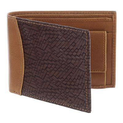 Dussledorf Buster Tan And Brown Men's Wallet (BUS-0802)
