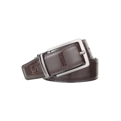 Dussledorf PU Leather Solid Dress Revresible Belt with Removable Buckle For Men's (BT-02)