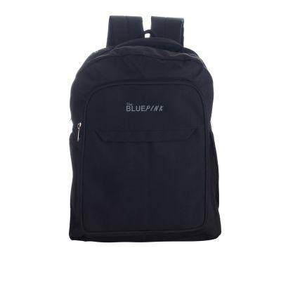 Dussledorf Polyester 18 Liters Black Laptop Backpack With Adjustabke strap (DELL-01)