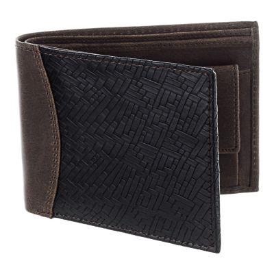 Dussledorf Buster Brown And Black Men's Wallet (BUS-0201)