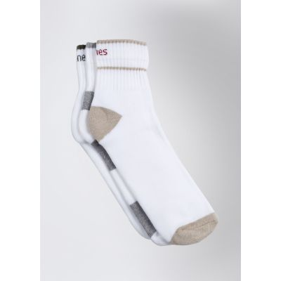 Hanes Solid Ankle Length Mens Socks