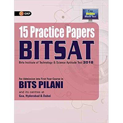 BITSAT 15 Practice Papers 2018
