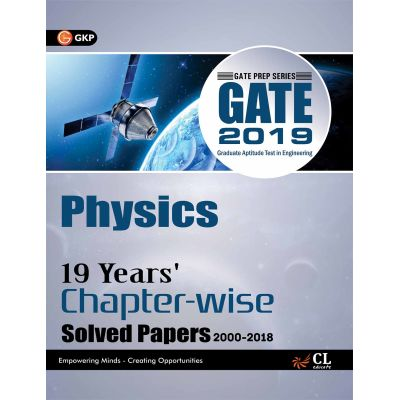 Gate 18 Years Chapter Wise Solved Papers Physics (2000-2017) 2018