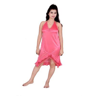 Kismat Fashion Pink Short Nighty