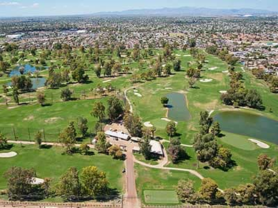 GCU's golf course in Phoenix