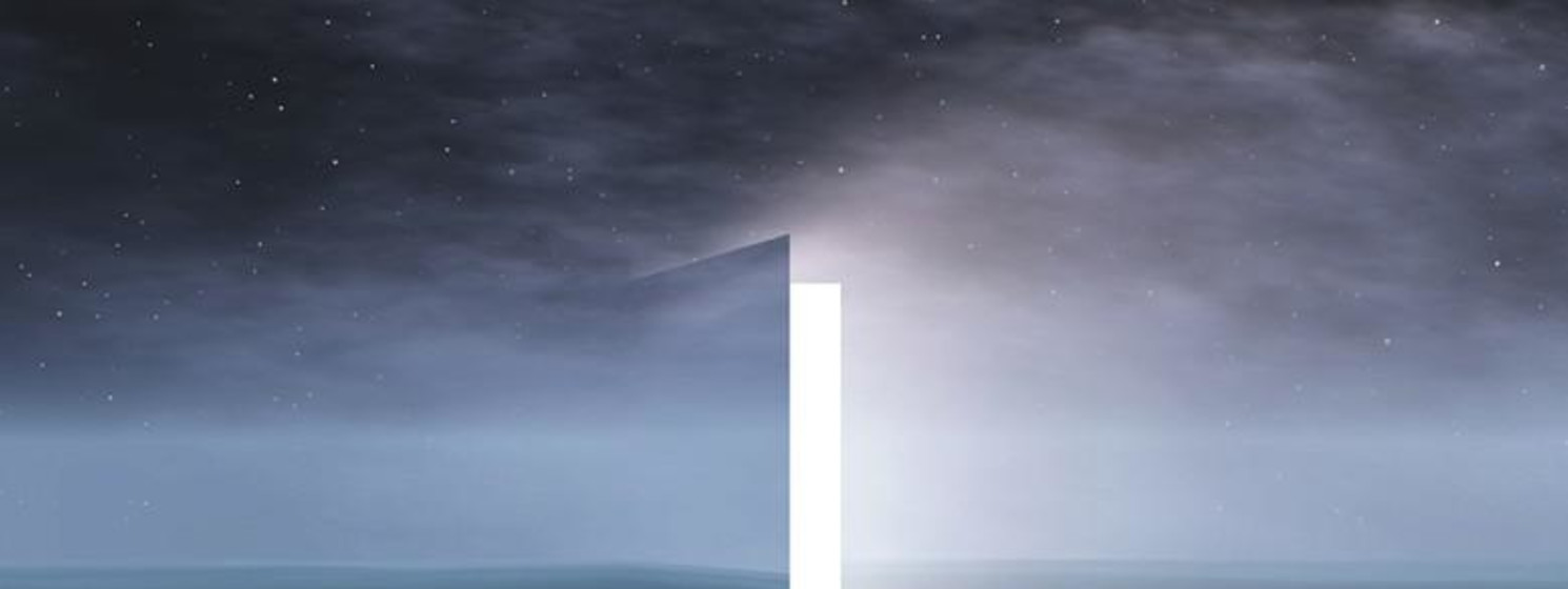door opened to shining light