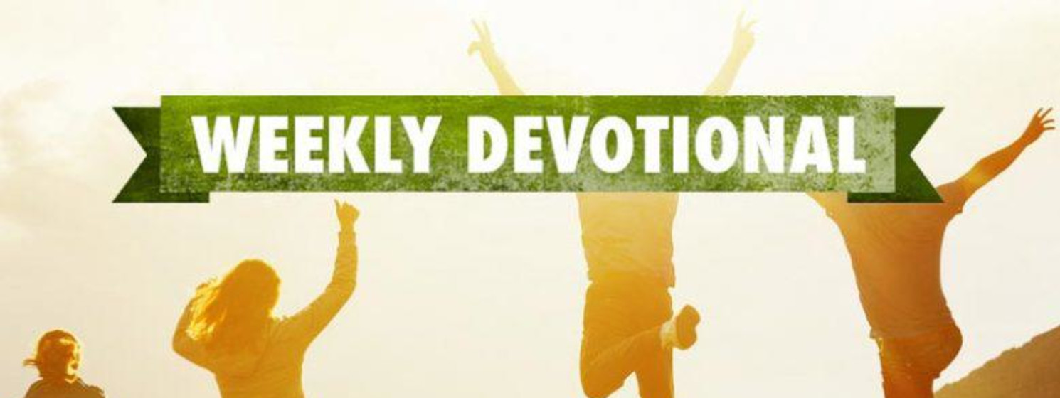 Weekly Devotional: People jumping on a hill