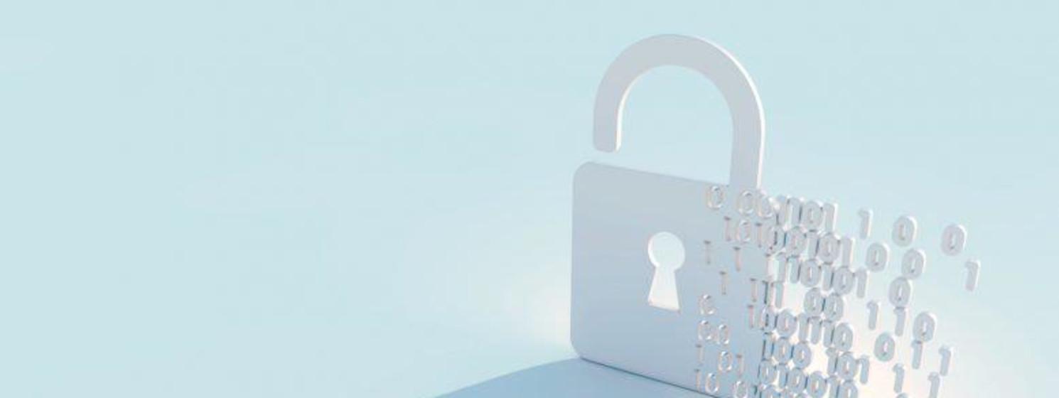 A virtual padlock
