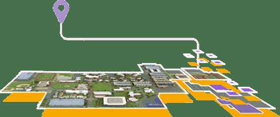 GCU virtual campus map