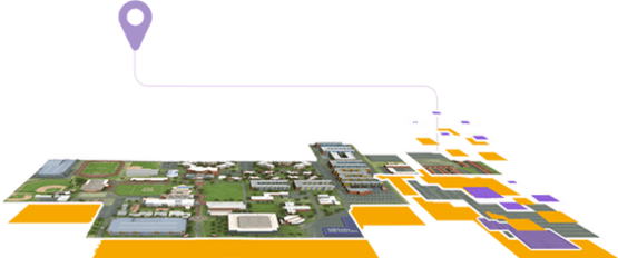 GCU virtual campus map