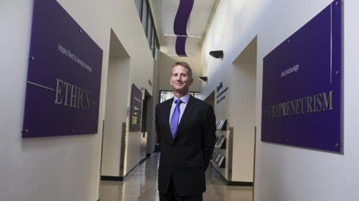 Randy Gibb in CCOB building
