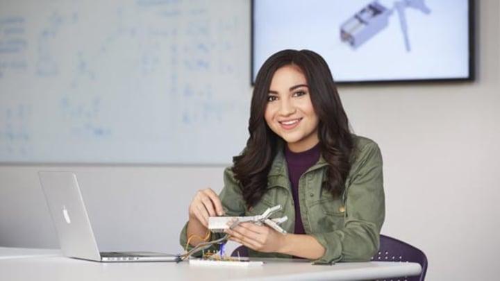 STEM Scholar Program student