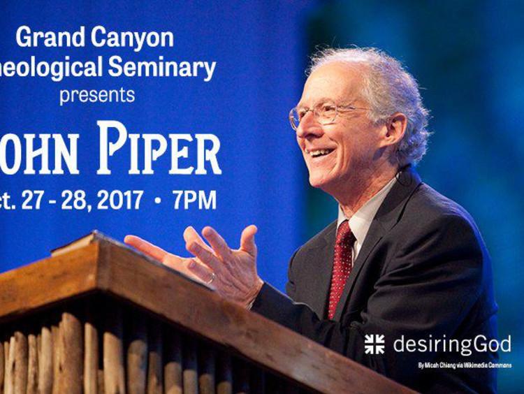 John Piper speaking