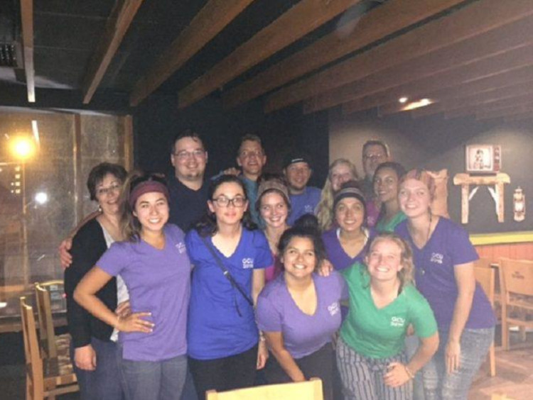GCU students and faculty on a mission trip to Peru