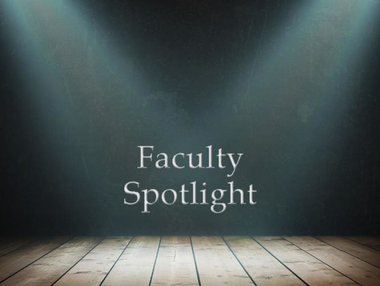 Faculty spotlight on stage