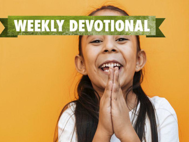 Weekly Devotional: Little girl smiling